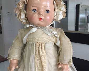 Madame Alexander Cloth and Composition Doll/Baby Doll/ Pinkie Doll/ Pinky Doll/ Antique Doll/ Composition Baby Doll/By Gatormom13