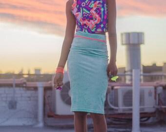 Mint Velvet Pencil Skirt