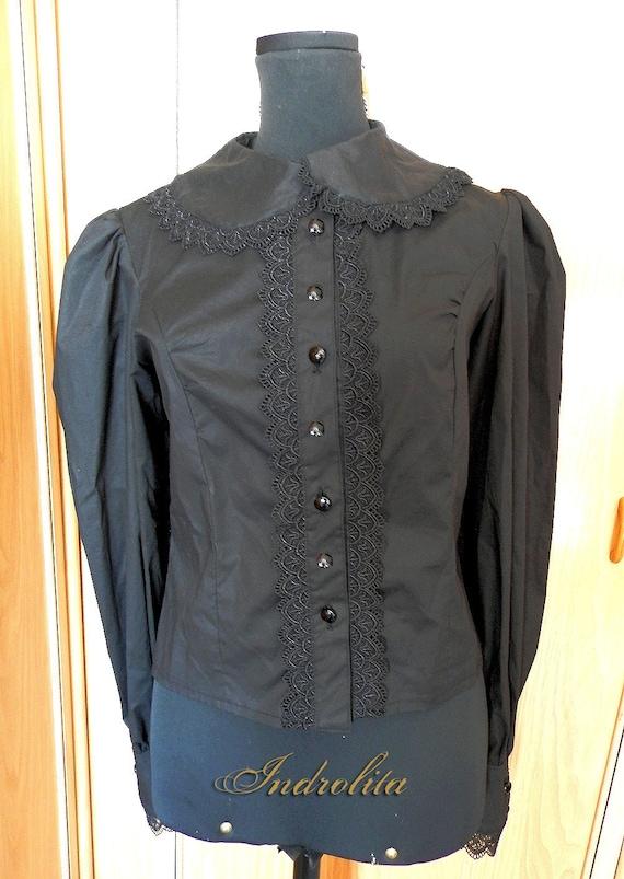 Victorian Black Shirt
