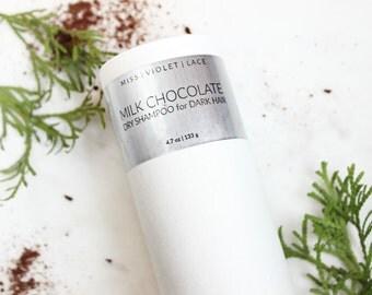 Dry Shampoo   Natural & Vegan Dry Shampoo for Dark Hair