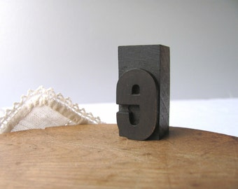 Vintage Letterpress Letter e Printer Block e Lower Case Alphabet Letter Stamp Block Wooden Letterpress Wood Type Printing Name Sign Graphics