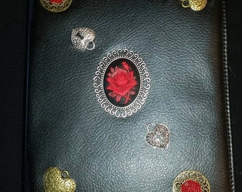 Steampunk ipad case, Steampunk case, Electronics case, Tablet case, reader case