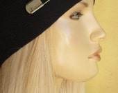 """Safety Pin Solidarity FREE** Vintage Style """"Hat"""" Pin... Brooch Stick Pin, cool Jewelry to Dress up Black Slouchy Beanies"""