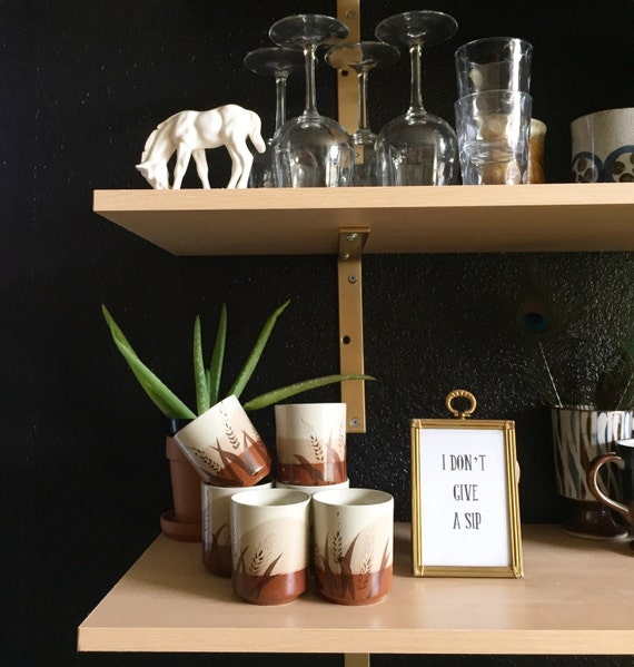 set 6 otagiri japanese ceramic tea cups / mug