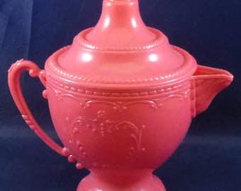 Vintage Irwin Plastic Children's Pretend Play Teapot, 1960s