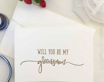 Groomsman Request Card, Groomsmen Gift, Groomsman Gift, Asking Groomsmen, Groomsman Groomsman Proposal Card, Wedding Party Gifts Calligraphy
