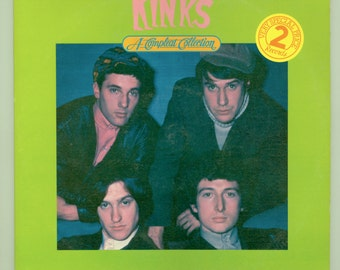 The Kinks A Compleat Collection of Early Kinks Hits  Ray Davies 2 Record Gatefold Set, British Rock 1984 Compleat Records CPL 2 - 2001