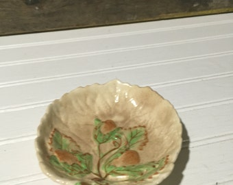 brentleigh plate fall leaves small candy dish thanksgiving decor made in england