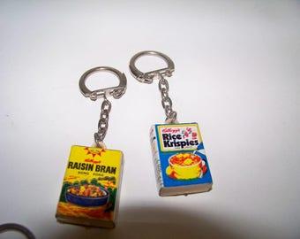 Vintage Kellogg's Cereal Key Chain