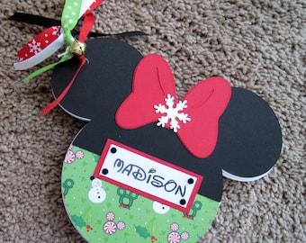 Disney Autograph Book - Christmas - Minnie Mouse