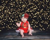 First Christmas Outfit Girl, Baby First Christmas, Romper, My 1st Christmas, Baby Girls, Toddler Girls, Baby Christmas Outfit, Posh Peanut
