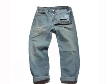 33 waist | 1980's Vintage Levi's 501 High Waist Denim