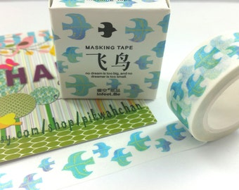 Bird Washi Tape (7M)