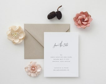 Sophie Wedding Save the Date - Sample