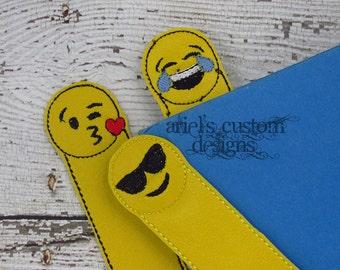 Emoji Bookmark - Emoji Bookmarks - Emoji Birthday Party Favor - Emoji Party Favors - Emoji Valentine - Emoji Class Gifts