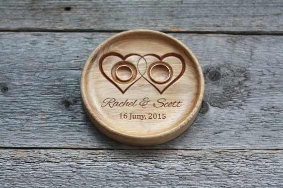 ... alternative Wedding ring bowl Wedding ring holder 5th Anniversary gift