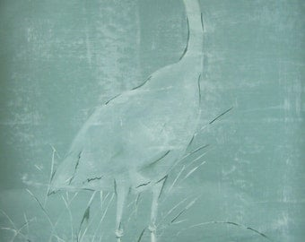 Blue Heron Fabric Poster!!!