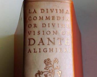 La Divina Commedia Or The Divine Vision [Comedy] of Dante Alighieri In Italian & English 1928 Limited Edition 42 beautiful Botticelli prints