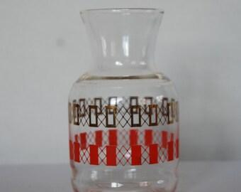 Mid-Century Glass Decanter Carafe