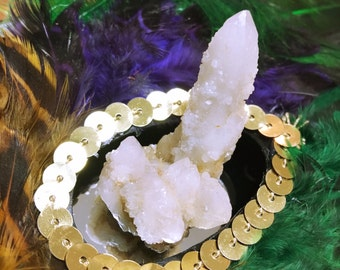 FAIRY QUARTZ CRYSTAL, Mini Spirit Cactus Crystal, Altar Crystal, Crystal Grids, Magick, Metaphysical, Display, Fairy Garden Decor