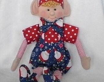 CHRISTMAS ELF doll Christmas decoration