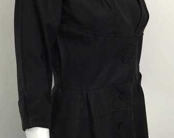 Fantastic Coat Dress late 1940's early 1950's