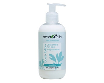 Unscented & Nut Free Body Lotion