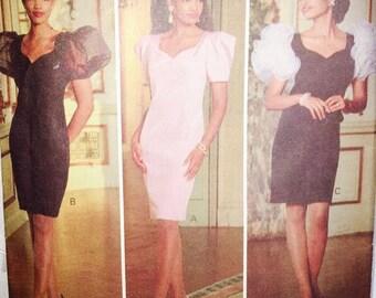 Butterick 5217 Misses Evening Dress