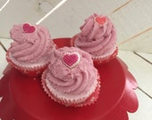 Mini Cupcakes, Cupcake Fizzies, Bath Bombs, Cupcake Bath Bombs, Bubble Bars, Bubble Frosting, Bubble Cupcakes, Hearts, Valentines Day