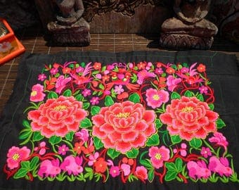 Hmong Embroidered Textile