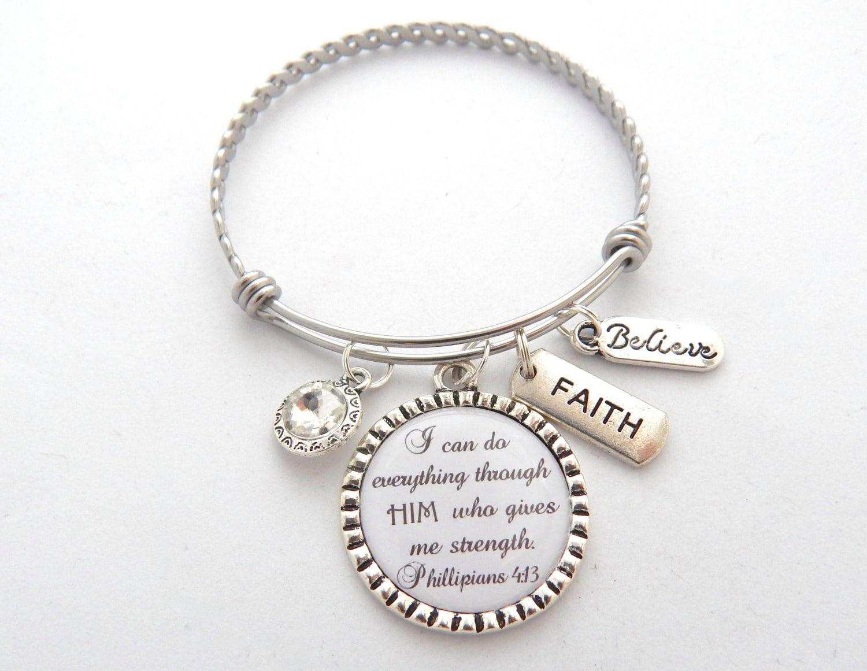 scripture jewelry bible verse bracelet prayer jewelry