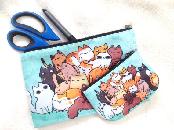 Ds Games Pouch With Cat Feature