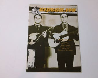 Bluegrass Unlimited Vol. 16, No. 3 (September 1981) - The Blue Sky Boys cover ~ vintage 80s Music Magazine back issue