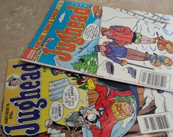 Two Jughead Comic books  Archie Comics both for 5.00 plus   FREE shipping USA