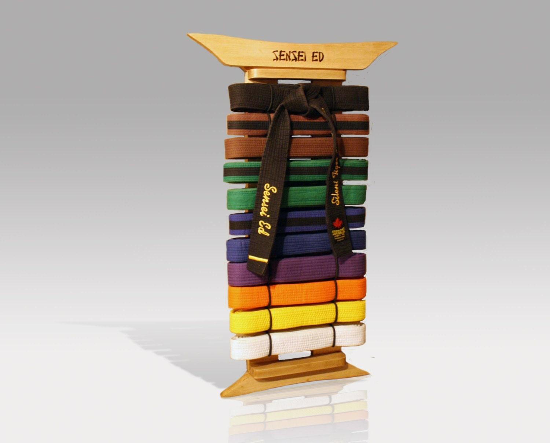 Karate belt display ideas -  Zoom