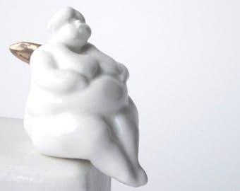 Porcelain Angel, Little Figurine
