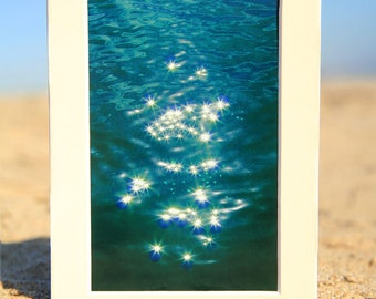 Mermaid Sparkles on the Water Photo Print by Mademoiselle Mermaid - Size 8x10, 5x7, or 4x6