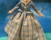 Barbie Outlander Claire Dress and Accessories