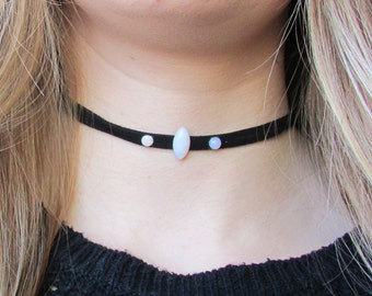 Opal Stones Choker Necklace