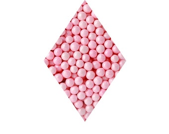 Pink Blush Pearlized Sugar Pearls - 4mm 2.4 oz, Beads, Candy, Pearl, Toppings,