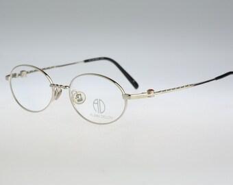 Alain Delon 3619  / Vintage eyeglasses and sunglasses / NOS  90's rare designer eyewear prescription frame