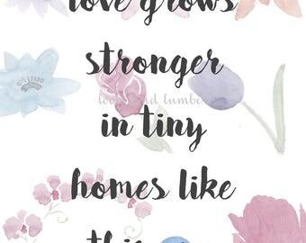Love Grows Print