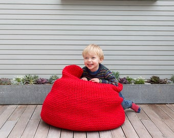 Big Beanbag: A Crochet PDF Pattern