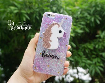 UNICORN Case.Super cute for ip5/5s ip6/6s ip6+/6s+ samsung