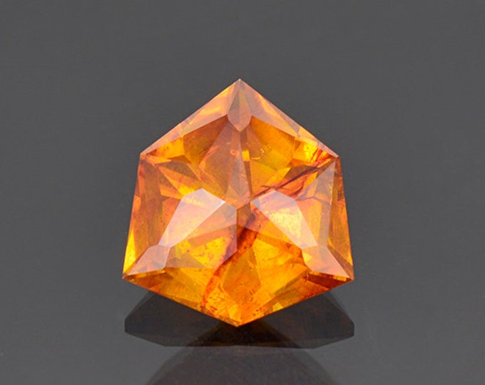 SALE EVENT! Beautiful Fiery Orange Sphalerite Gemstone from Spain 5.22 cts.