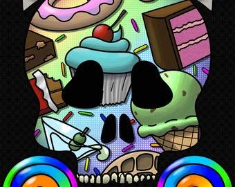 Sugar Skull  (Print)