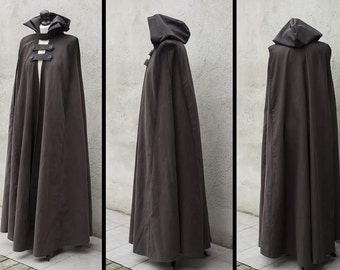 Cloak Hooded with neckband