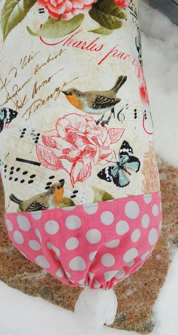 Butterfly Plastic Bag Dispenser, Bird Shopping Bag Holder