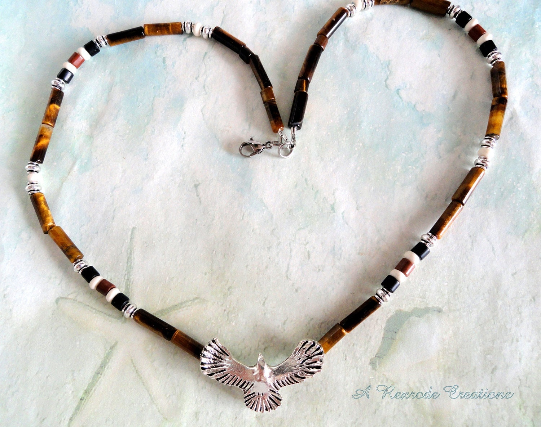 Men's Beaded Jewelry Men's Necklace Mens Native