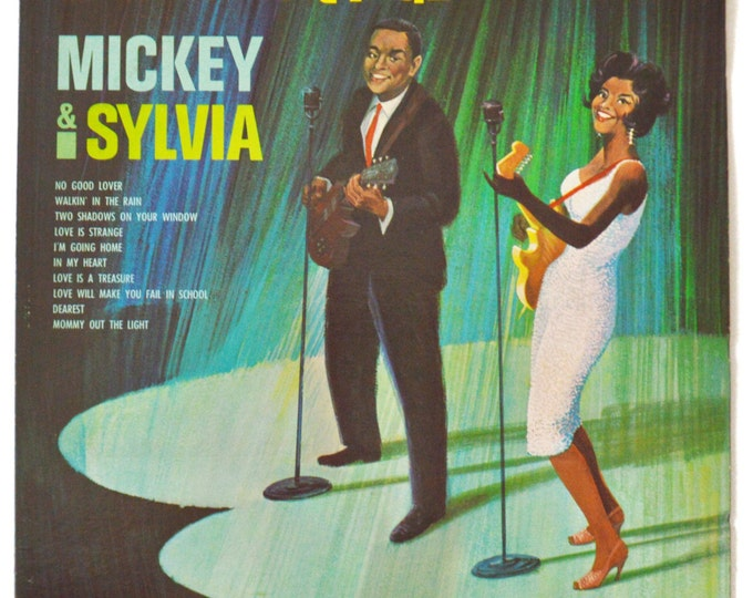 Vintage 50s Mickey & Sylvia Love Is Strange Mono Album Record Vinyl LP